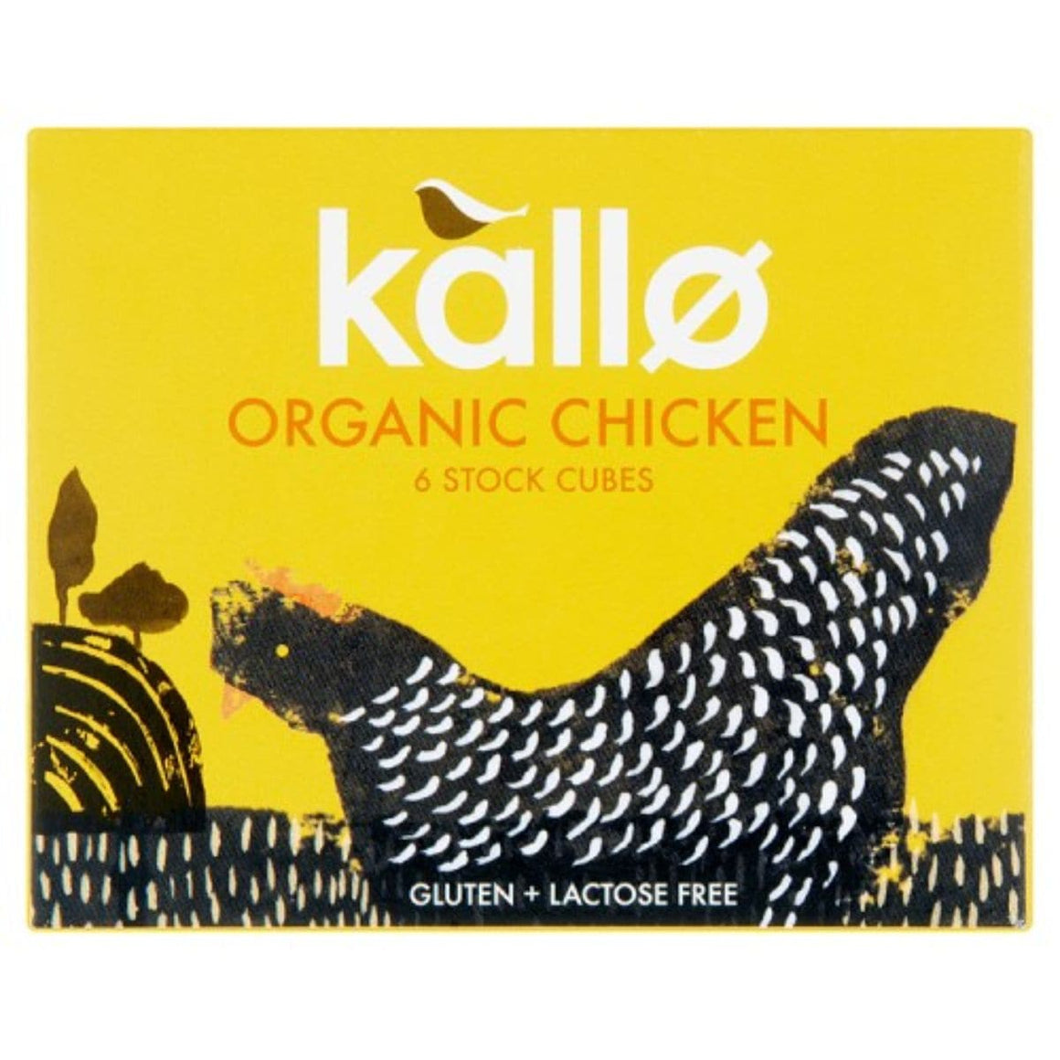 Kallo Chicken Stock Cubes Organic - 66g - SoulBia