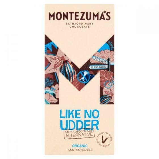Montezumas Like No Udder Milk Alternative Bar - 90g - SoulBia