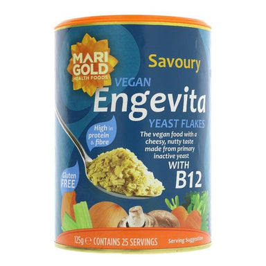 Engevita Yeast Flakes with Vitamin B12 - 125g - SoulBia