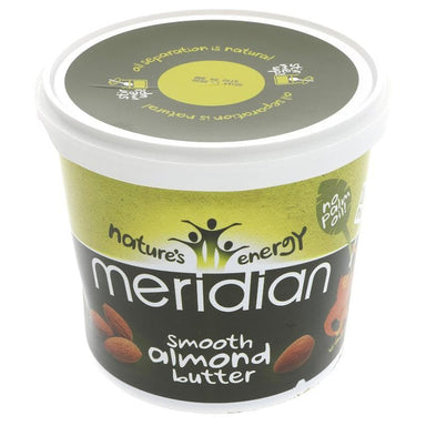 Meridian Almond Butter Smooth- 1 kg - SoulBia
