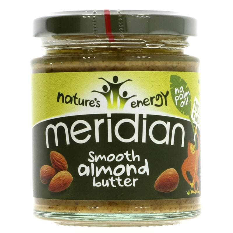 Meridian Almond Butter Smooth - 170g - SoulBia