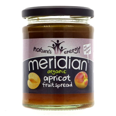 Meridian Organic Apricot Fruit Spread - 284g - SoulBia
