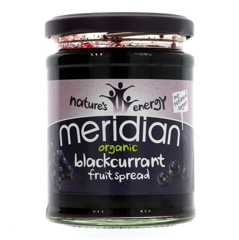 Meridian Organic Blackcurrant Fruit Spread - 284g - SoulBia