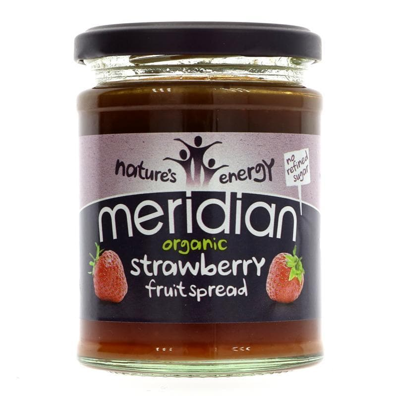 Meridian Organic Strawberry Spread - 284g - SoulBia