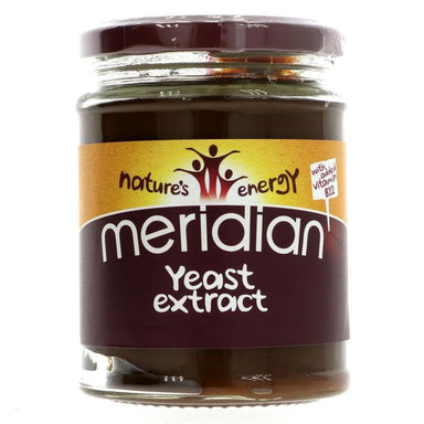 Meridian Yeast Extract +B12, no salt - 340g - SoulBia