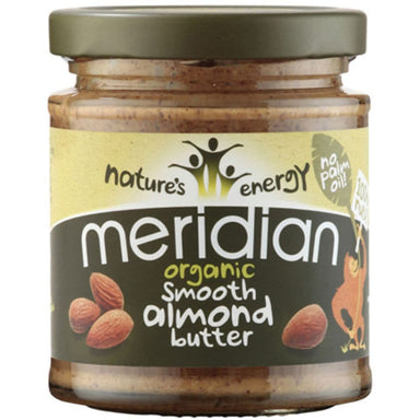 Meridian Almond Butter - Smooth Organic 170g