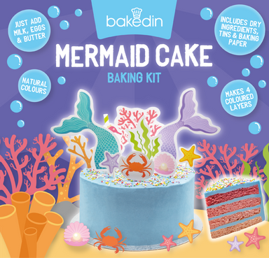 BakedIn Mermaid Cake Kit - 975G - SoulBia