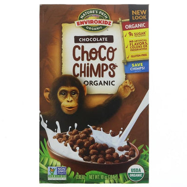 Natures Path Organic Choco Chimps - 284g - SoulBia