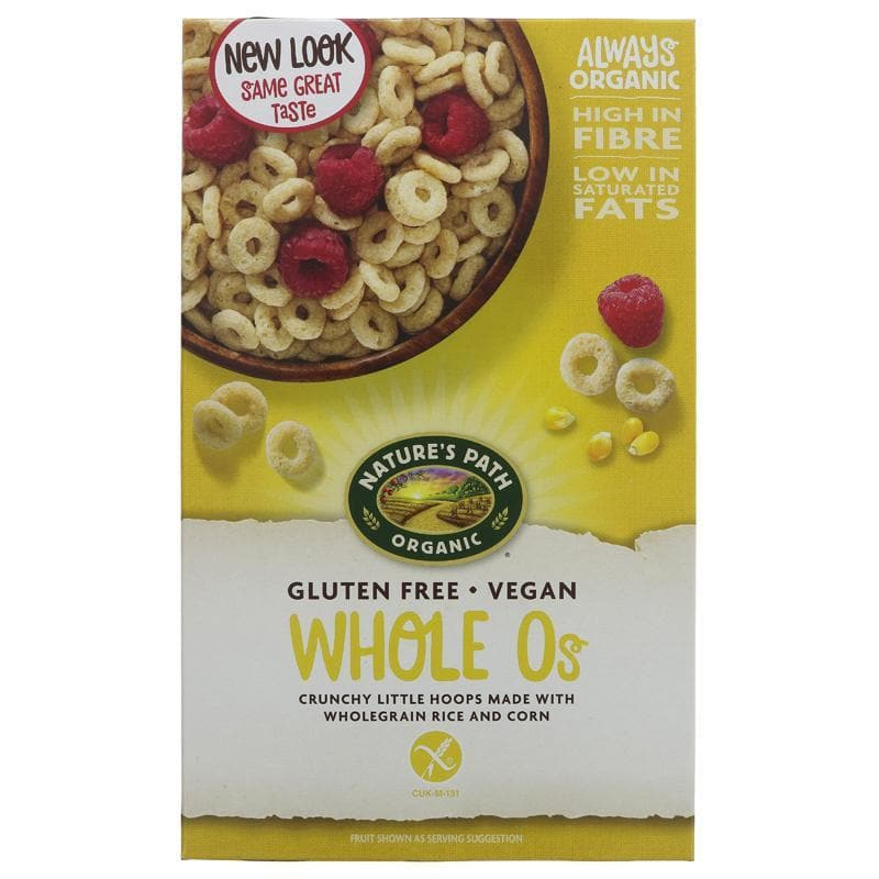 Natures Path Organic Gluten Free O's - 325g - SoulBia