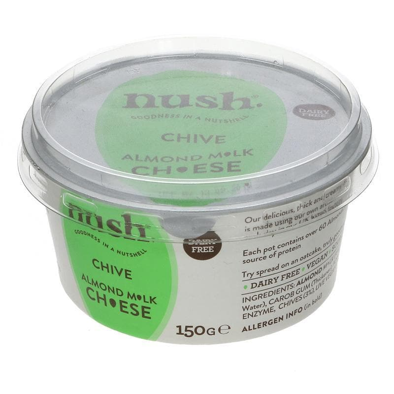 Nush Almond & Chive Ch*ese Spread - 150g - SoulBia