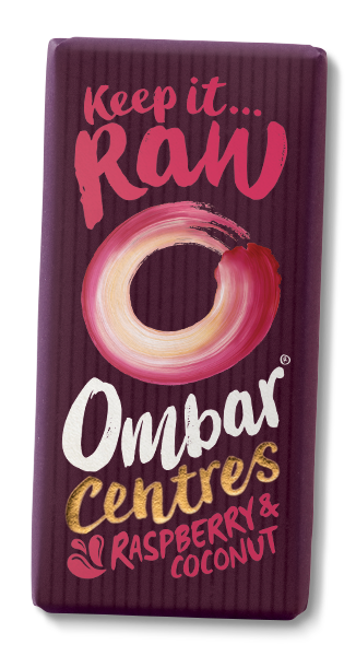 Ombar Raspberry Coconut Chocolate - 35g - SoulBia