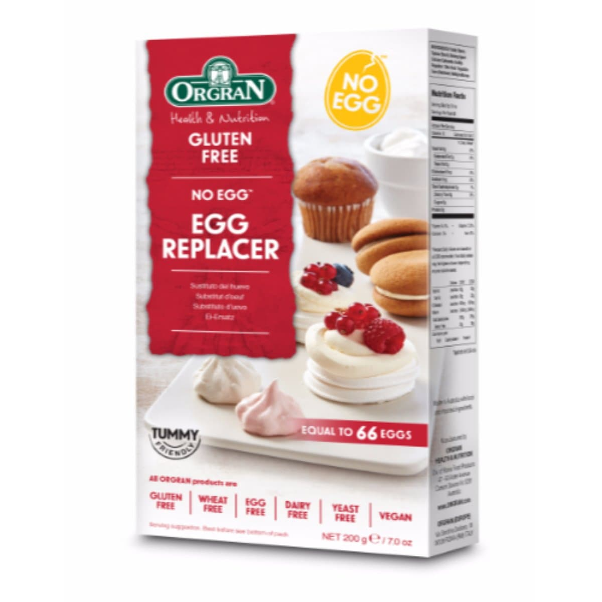 Orgran Egg Replacer 200g - SoulBia