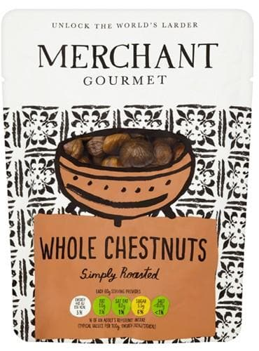 Merchant Gourmet Whole Chestnuts - 180g - SoulBia