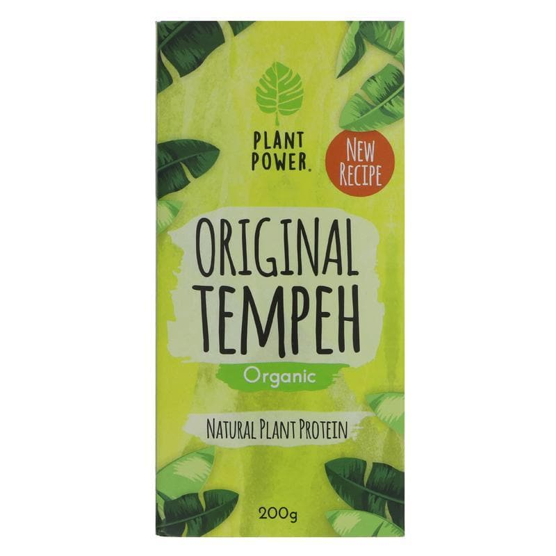 Plant Power Original Tempeh - 200g - SoulBia