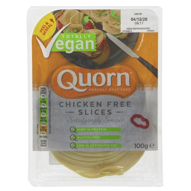 Quorn Chicken Free Slices - 100g - SoulBia