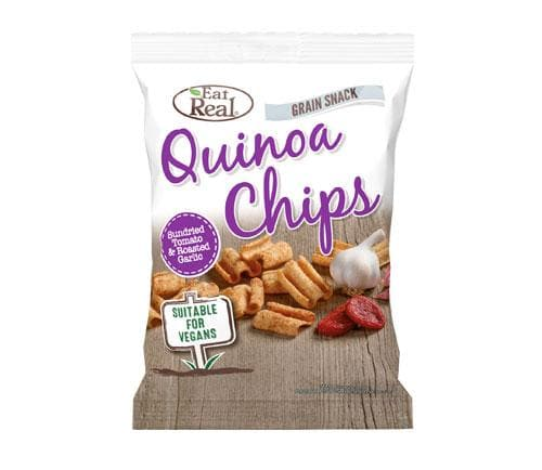 Eat Real Quinoa Chips Sundried Tomato and Garlic - SoulBia
