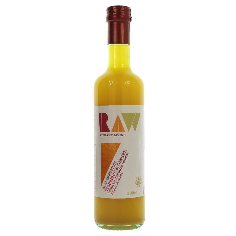 Raw Health Turmeric Ginger Cider Vinegar  500ml - SoulBia