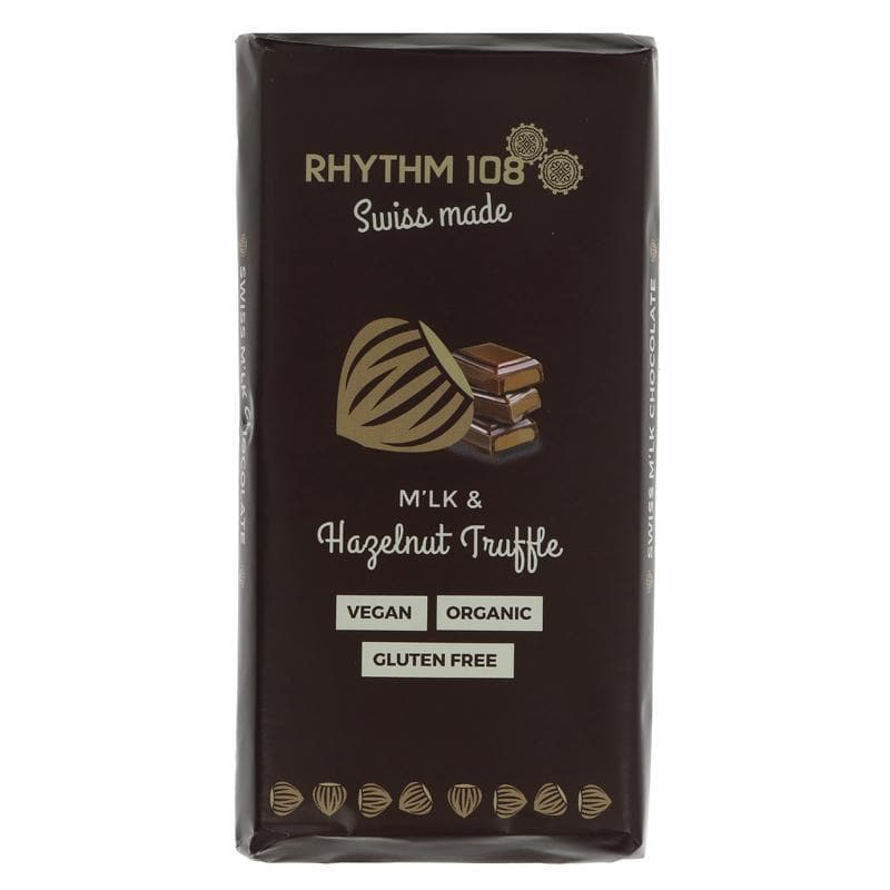 Rhythm 108 Swiss Chocolate Tablet - 100g - SoulBia