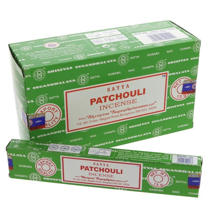 Siesta Crafts Satya Sai Patchouli Incense- 15g - SoulBia
