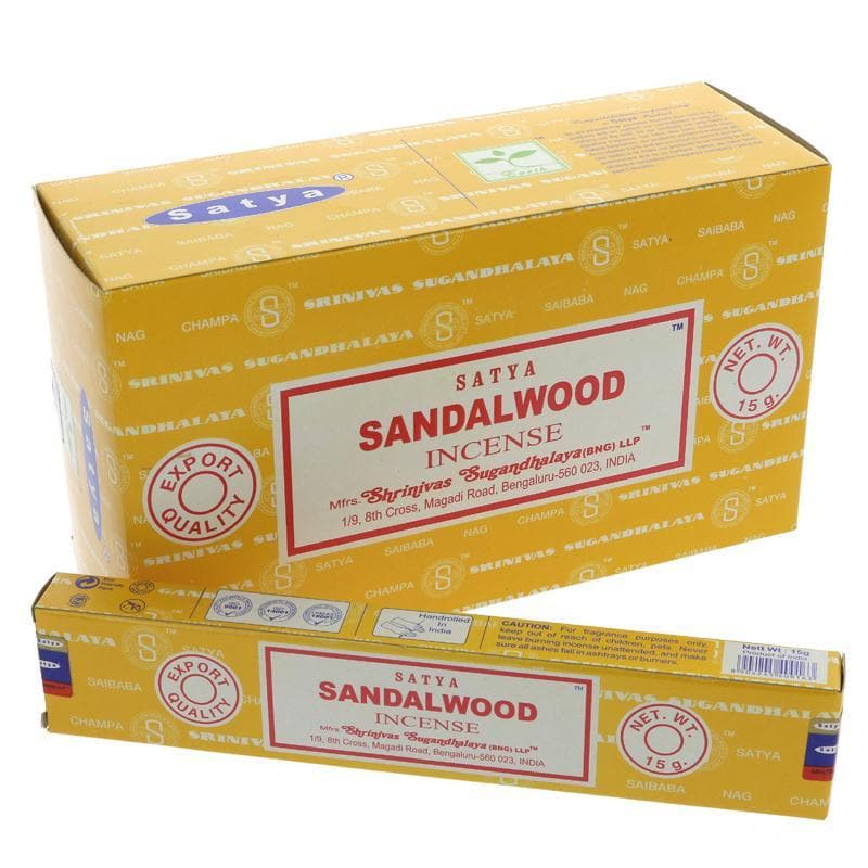 Siesta Crafts Satya Sai Sandalwood Incense- 15g - SoulBia