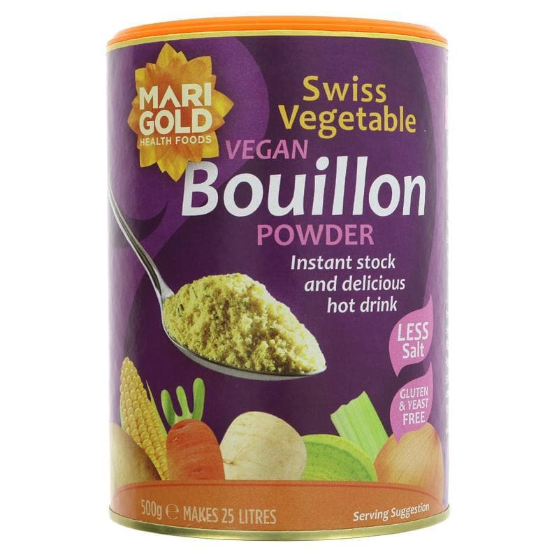 Marigold Bouillon Powder - Reduced Salt - 500g - SoulBia