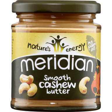 Meridian Smooth Cashew Butter - 170g - SoulBia