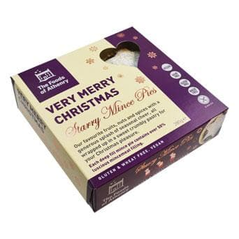 The Foods of Athenry - Very Starry Mince Pies 280g - SoulBia
