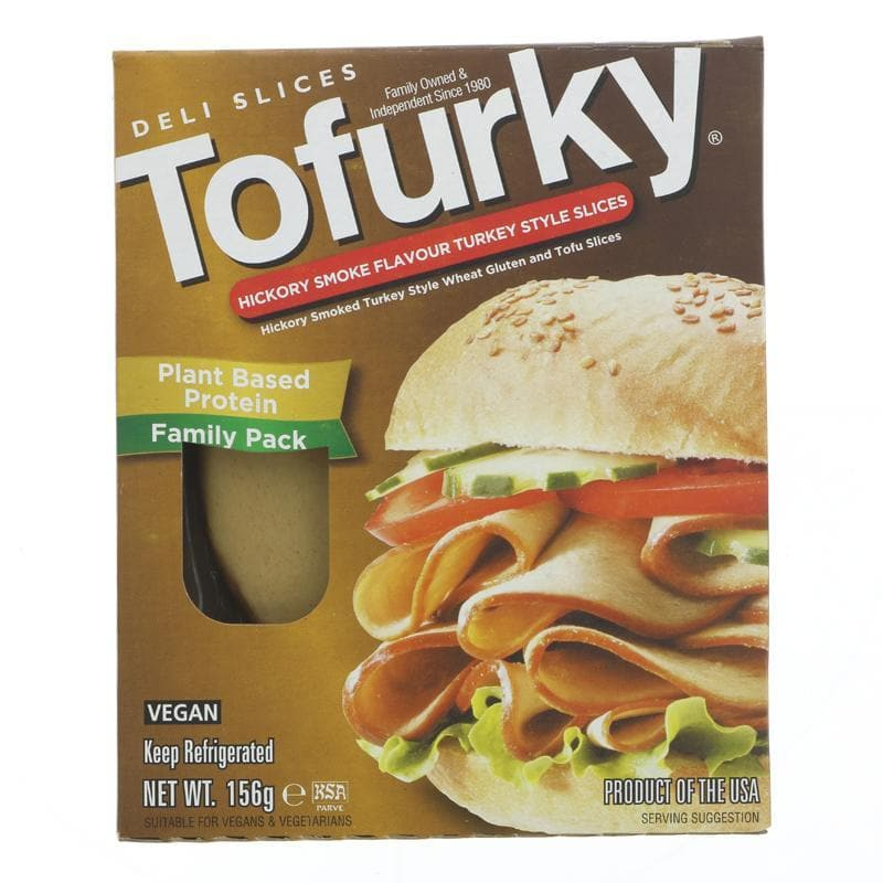 Tofurky Hickory Smoked Style Slices - 156g