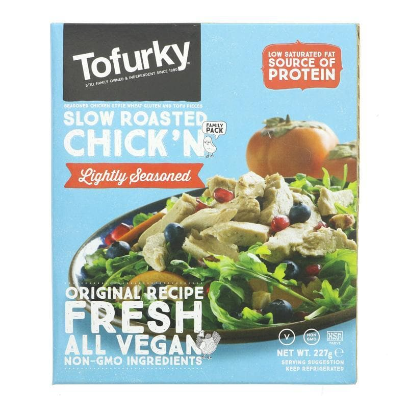 Tofurky Lightly Seasoned Chick'n - 227g