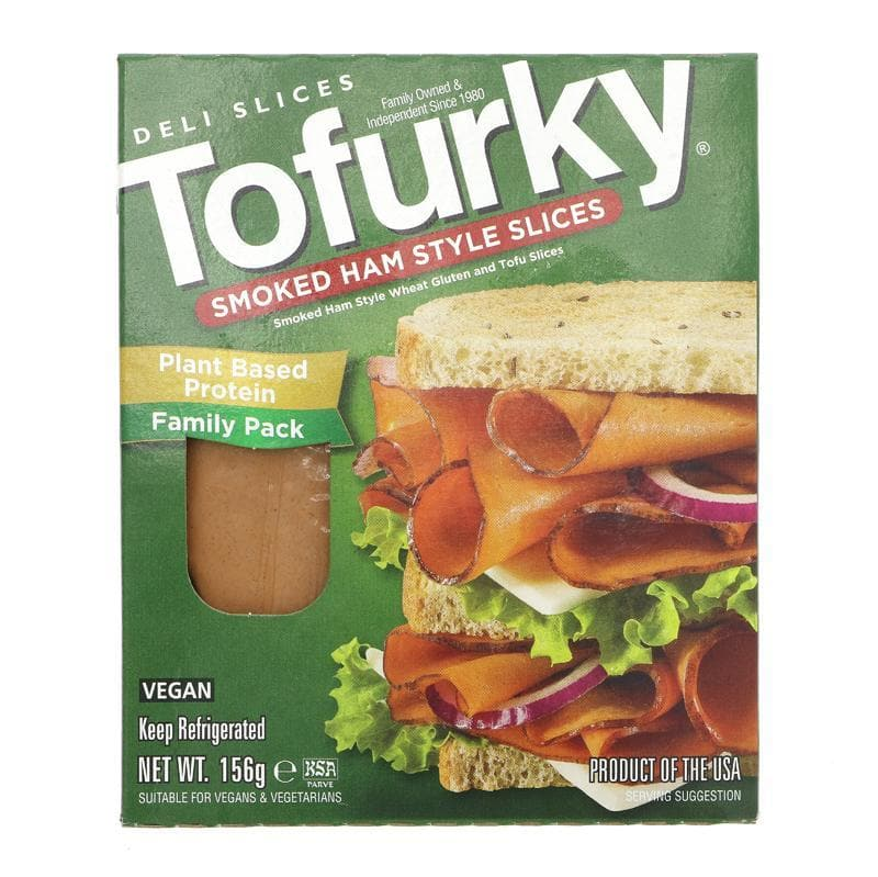 Tofurky Smoked Ham Style Deli Slices - 156g - SoulBia