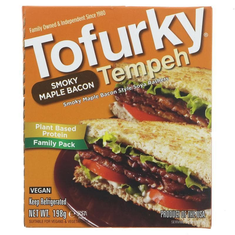 Tofurky Smoked Maple Bacon Tempeh - 200g - SoulBia