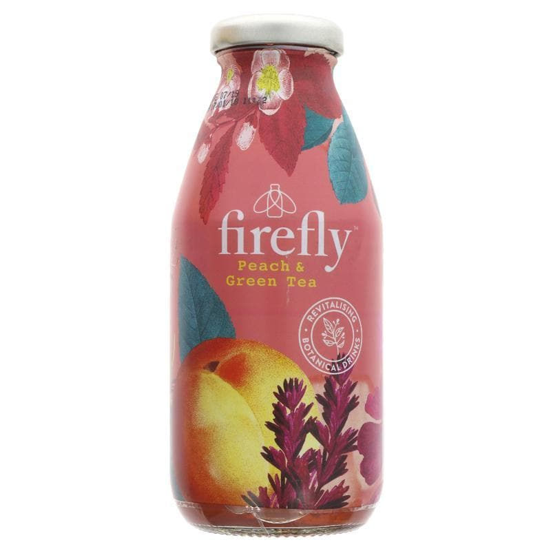 Firefly Natural Drinks Peach & Green Tea - 330ml - SoulBia