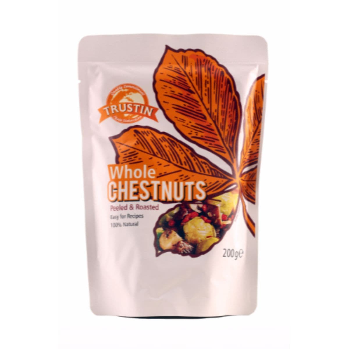 Trustin Foods Peeled Roasted Chestnuts - 200g - SoulBia