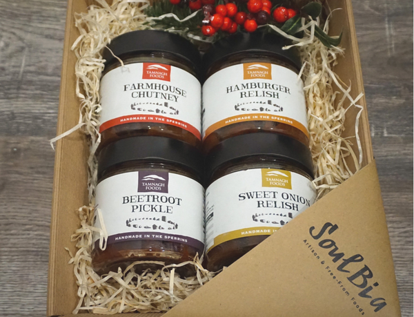 Handmade Relish, Pickle and Chutney Hamper from Tamnagh Foods