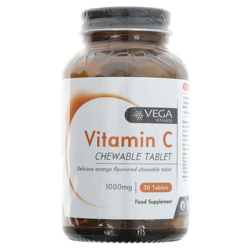 Vega Chewable Vitamin C 1000mg (30 tablets) - SoulBia