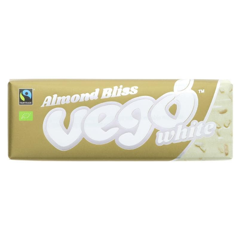 Vego White Chocolate - Almond Bliss -  50g - SoulBia