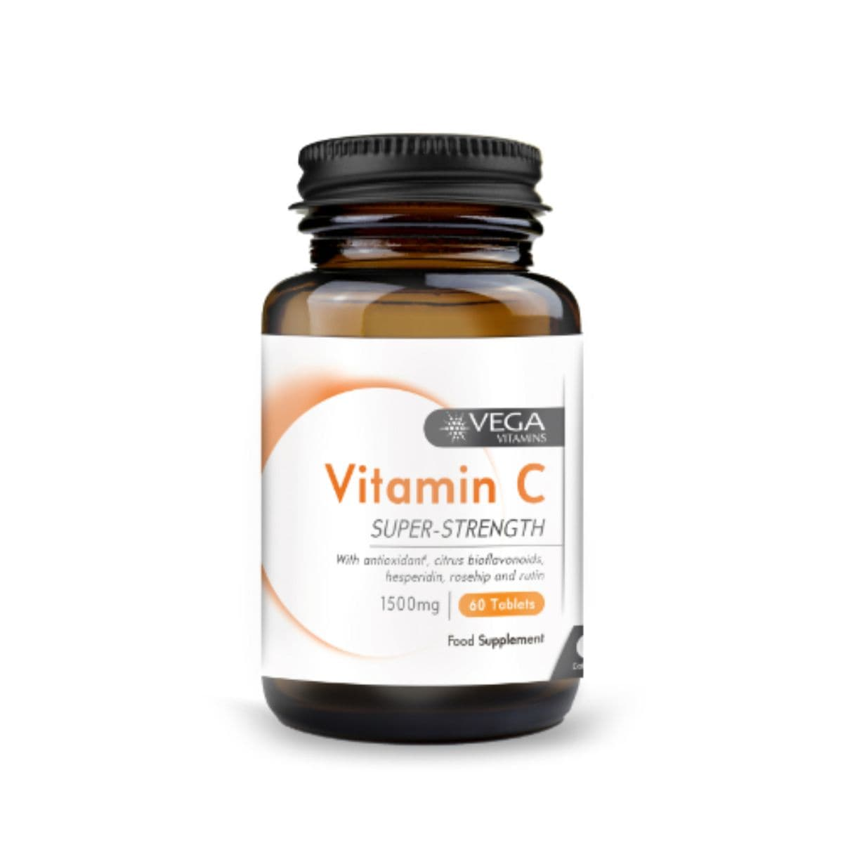 Vega Vitamin C 1500mg - Super Strength 60s - SoulBia
