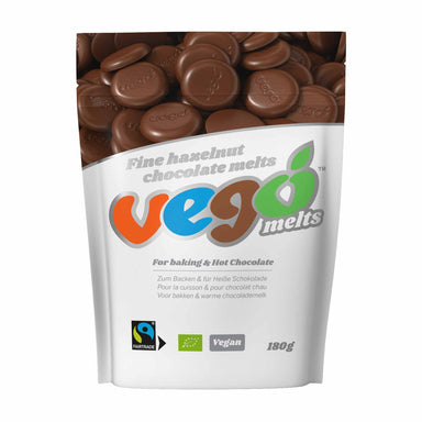 Vego Fine Hazelnut Chocolate Melts - 180g