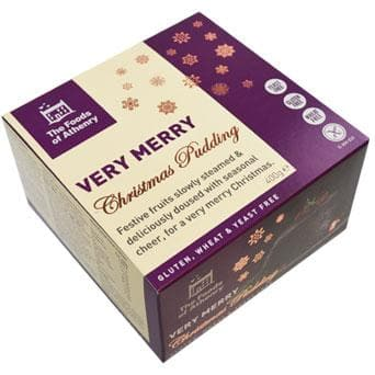 The Foods of Athenry Very Merry Christmas Pudding - 400g - SoulBia