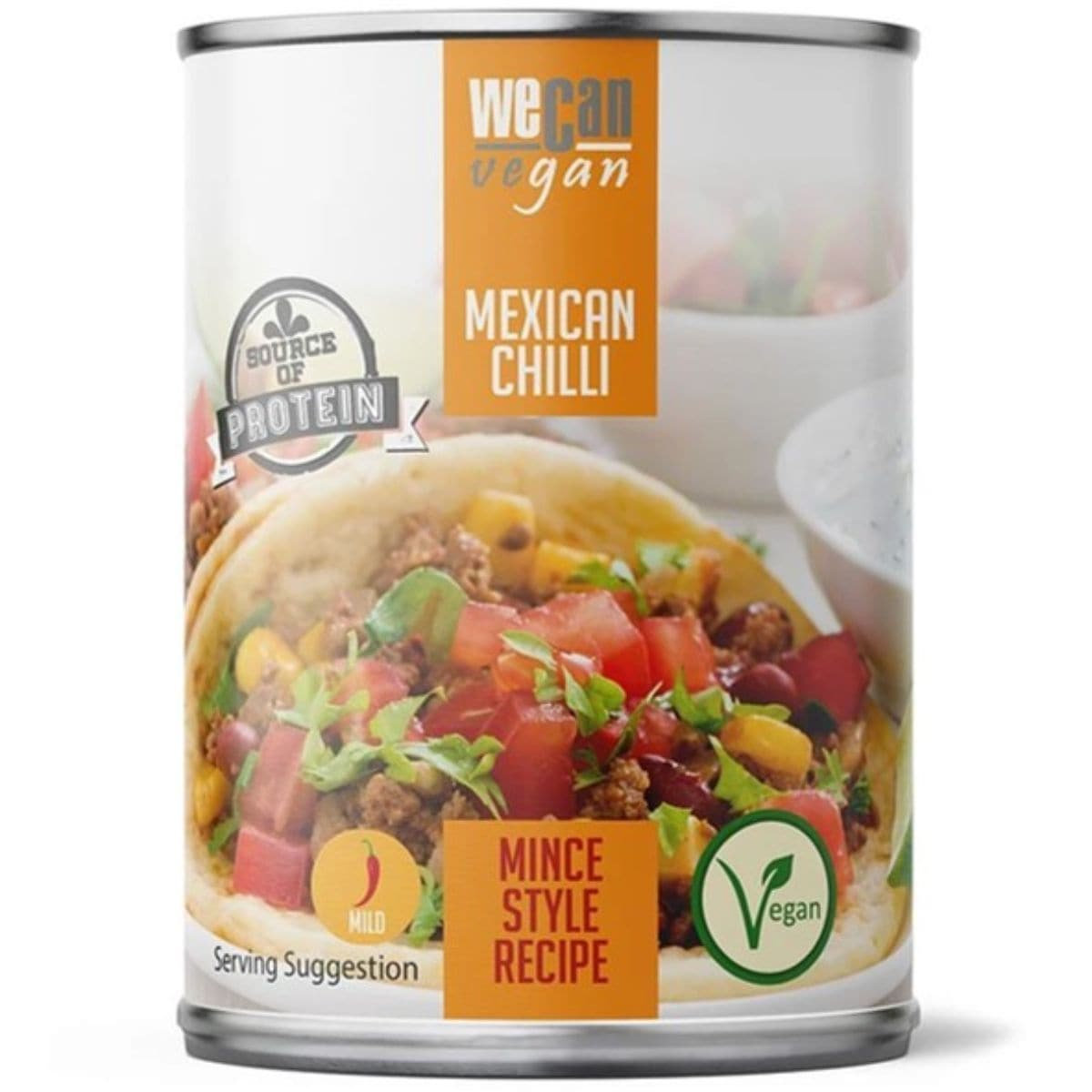 We Can Vegan Mexican Meat Free Chilli - 400g - SoulBia