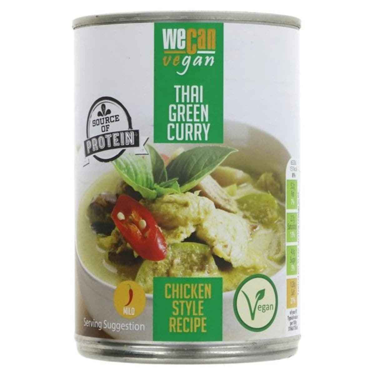 We Can Vegan Meat Free Thai Green Curry - 400g - SoulBia