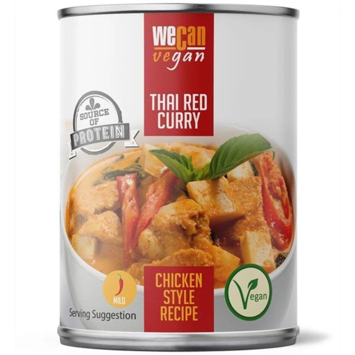 We Can Vegan Meat Free Thai Red Curry - 400g - SoulBia