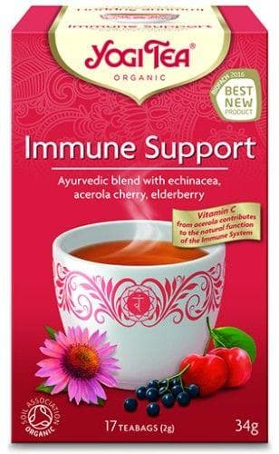 Yogi Tea Immune Support Tea 17 Bags - 34g - SoulBia