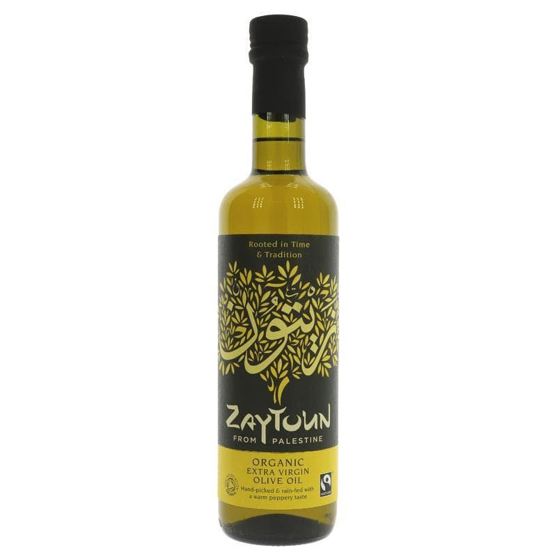 Zaytoun Olive Oil - Fair Trade - 6 x 500 ml
