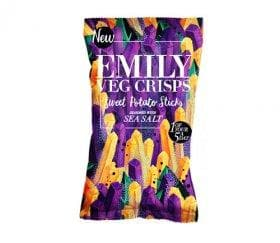 Emily Crisps - Sea Salt Sweet Potato Sticks - 35g - SoulBia
