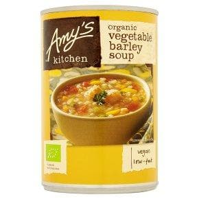 Amys Kitchen Vegetable Barley Soup -400g - SoulBia