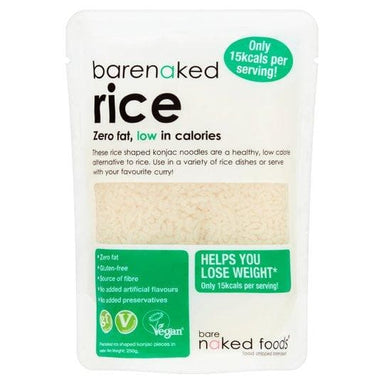 Barenaked Rice Shaped Noodles - 250g - SoulBia