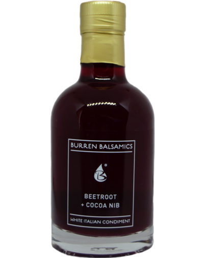 Burren Balsamics -  Beetroot & Cocoa Nib 100ml - SoulBia