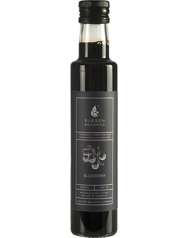 Burren Balsamics Blueberry Balsamic Vinegar 250ml - SoulBia