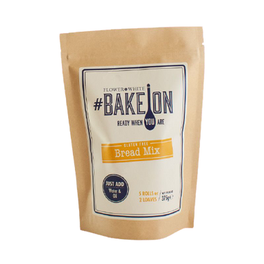 Flower & White BakeOn - Gluten Free Bread Mix 375g - SoulBia